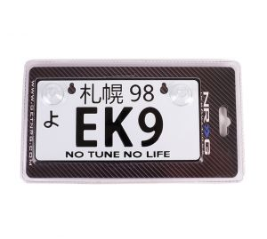 NRG JDM Mini License Plate: EK9