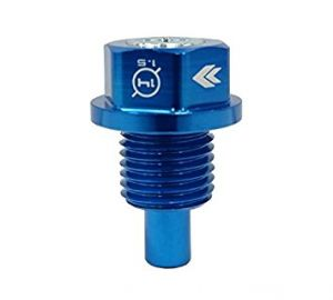 NRG Blue Magnetic Oil Drain Plug