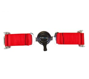 NRG Red 4 Point Cam Lock Harness