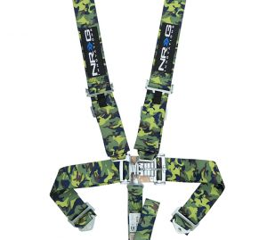 NRG Camo 5 Point Latch Link Seat Belt Harness
