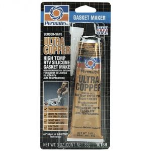 Permatex Ultra Copper Gasket Sealer 3 Ounce
