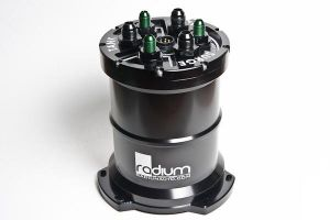 Radium Engineering Triple Walbro F90000274 Fuel Surge Tank