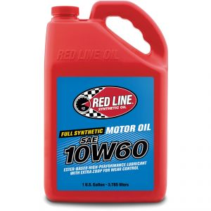 Red Line 10W-60 Synthetic Motor Oil: Gallon