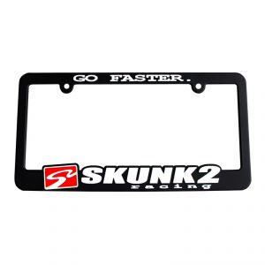 Skunk2 Go Faster License Plate Frame