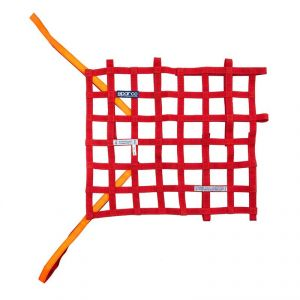 Sparco Window Net: Red