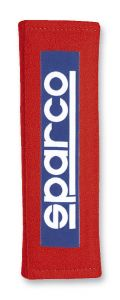 Sparco Competition Harness Pads: Red