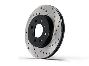 StopTech 03-11 Element Left Front Drilled Brake Rotor