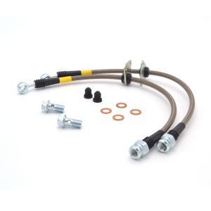 StopTech 06-11 Civic Rear Stainless Steel Braided Brake Lines