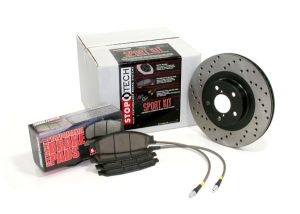 StopTech 02-06 RSX Type-S Stage 2 Drilled Brake Upgrade