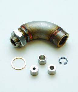 Vibrant M18x1.5 J-Style Oxygen Sensor Restrictor Fitting