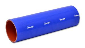 "Vibrant Blue 4 Ply ReInforced Silicone Coupler - 3.25"" ID X 12"""