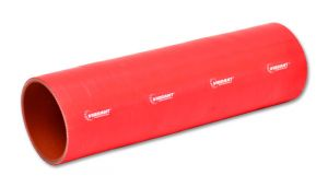 "Vibrant Red 4 Ply ReInforced Silicone Coupler - 3.25"" ID X 12"""