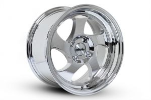 Whistler KR1 Chrome 15x8 +20mm Offset Wheel: 4x100