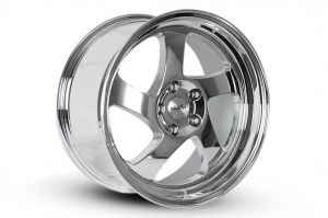 Whistler KR1 Chrome 17x9 +25mm Offset Wheel: 5x114.3
