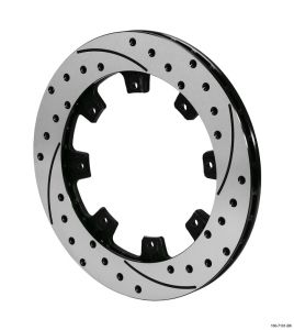 Wilwood SRP Drilled Performance Rotor: Driver Side