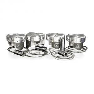 Wiseco 86.5mm K-Series K20 Pistons: 9.8:1