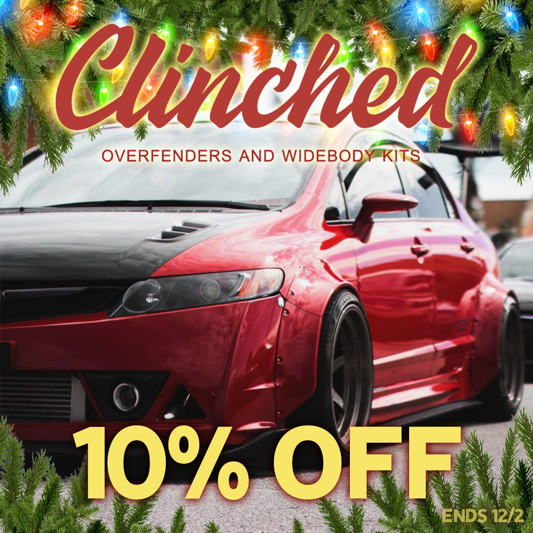 10% off Clinched